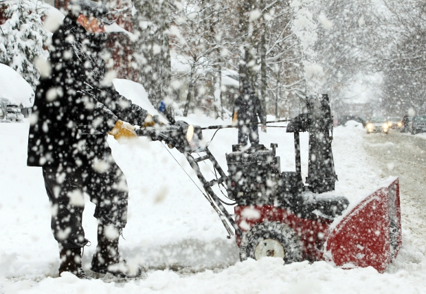 thick winter snow Snow Removal Services in Minneapolis