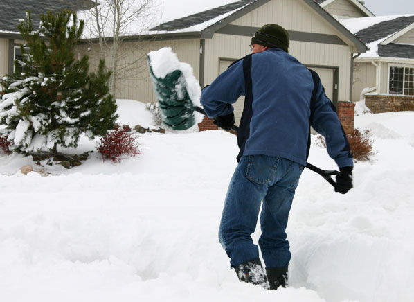 shoveling snow Snow Removal Services in Minneapolis
